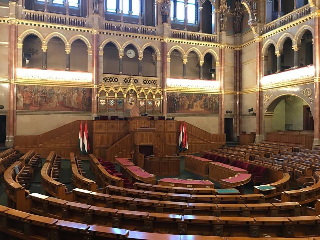 intérieur du parlement